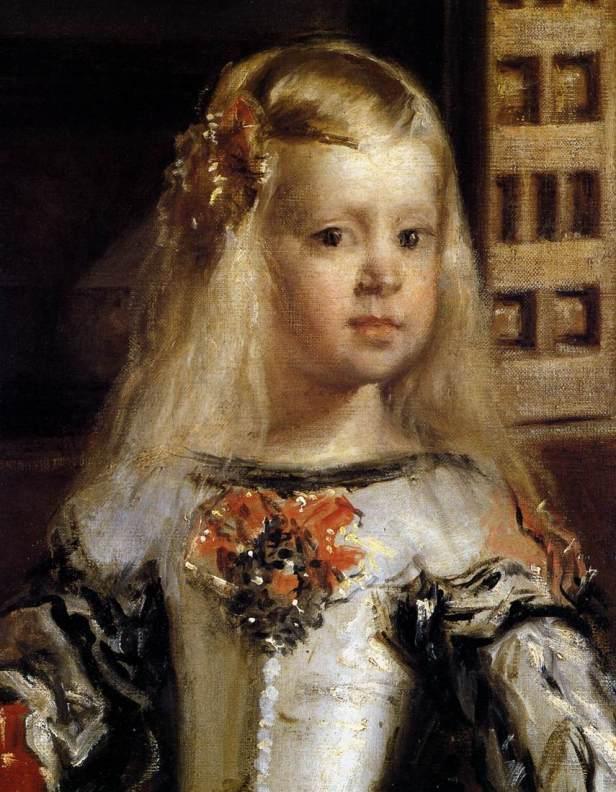 Velazquez_Las.Meninas.Detail.Infanta_1656